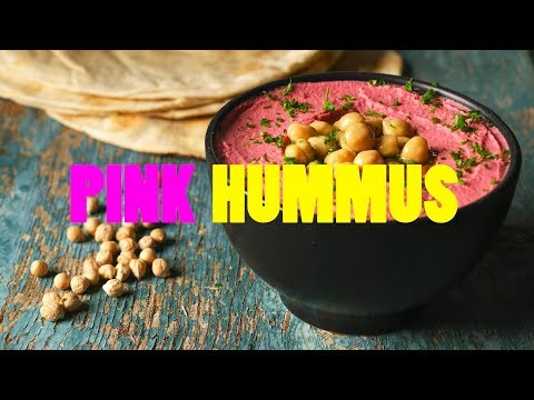 Pink Hummus – Done in 60 seconds