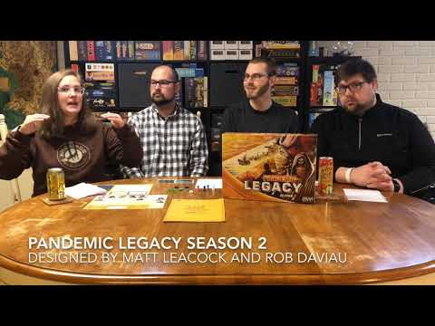 Pounds and Inches: Pandemic Legacy Season 2 *No Spoilers!*
