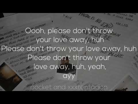 XXXTENTACION - Fuck Love (Lyrics) (feat. Trippie Redd)