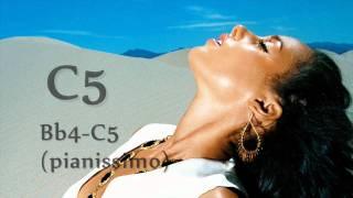 "[HD] Alicia Keys - ""Doncha Know (Sky Is Blue)"" Vocal Showcase F#3-G#5"