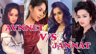 Avneet Kaur Vs Jannat Zubair   TikTok Dance   Bollywood Actress   Best Musically Tiktok Videos
