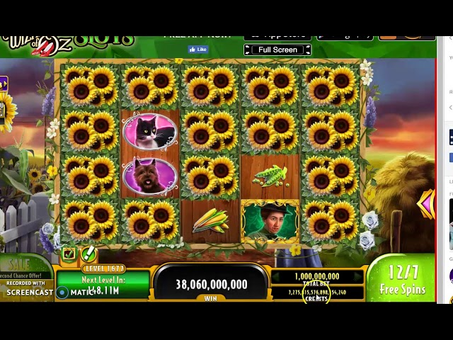 How To Get Free Credits On Wizard Of Oz Slots