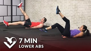7 Min Lower Ab Workout for Women & Men - 7 Minute Lower Abs Belly Fat Workout by HASfit