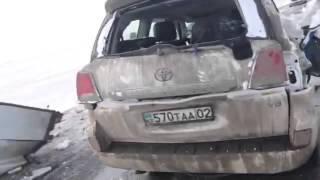 Авария на трассе Казахстан