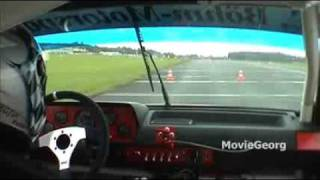 preview picture of video 'Auto Slalom, DM-Nord 2009, Höxter, Stefan Pietzka, VW Polo, Gr. H bis 1300, onboard'