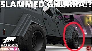Forza Horizon 4: What Happens when You Slam a Ghurka? (Customization & Drifting Gameplay)