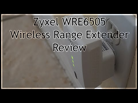 Zyxel WRE6505 Wireless Range Extender - Review