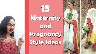 Top 15 Maternity And Pregnancy Style Ideas  Daily Wear  Party Wear