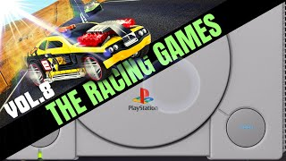 Sony Playstation: All RACING / DRIVING Games VOL.8 - Arcade Style