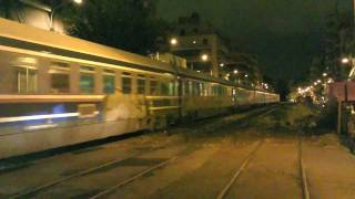preview picture of video 'BOMBARDIER 220 033 & ADtranz 220 019 doubletraction at Athens Sepolia (13/11/11)'