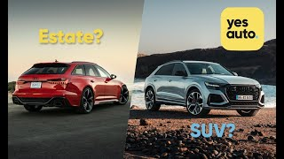 Should you buy an estate car (wagon) or an SUV? – YesAuto