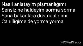 Bilal Sonses   Sevme Lyrics (sarki Sözleri)