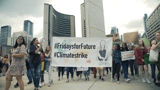 Striking for Climate and World Environment Day: VIDEO