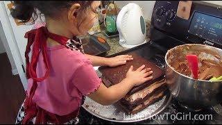 How To Make A Dark Chocolate Cake (Episode 15)