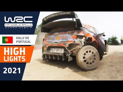 ヒュンダイのヌービルが大クラッシュSS7動画 WRC 2021 第4戦ラリー・ポルトガル