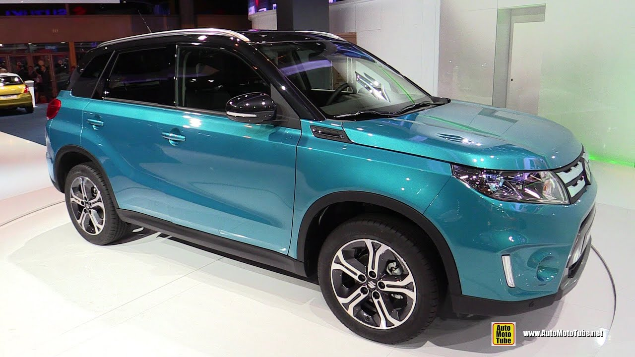 2015 Suzuki Vitara - Exterior and Interior Walkaround Debut at 2014 Paris Auto show