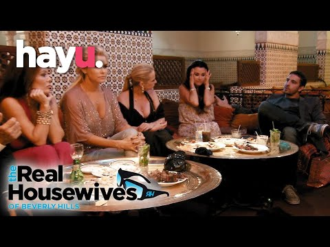 Things Blow Up At Kyle's Dinner Party | The Real Housewives of Beverly Hills
