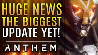 Anthem - Huge News Update! Apex Bosses in Legendary Missions! Javelin Changes! Elysian Chests!