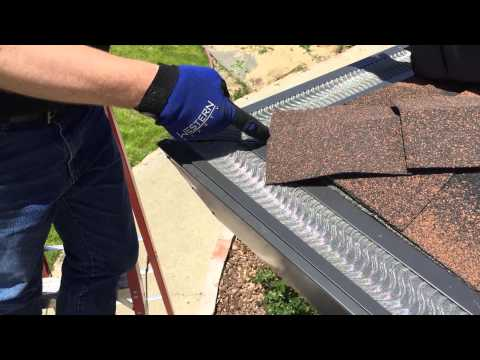 Nice walkthrough with Mr. Bill Lassell, with the Valor gutter guard!