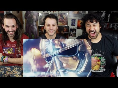 STAR WARS: THE LAST JEDI TRAILER (Official) REACTION & REVIEW!!!
