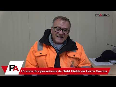 Rafael Sáenz - 10 años de operaciones de Gold Fields en Cerro Corona