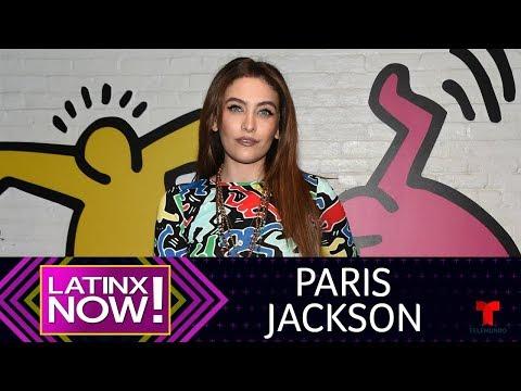 Paris Jackson desmiente intento de suicidio | Latinx Now! | Entretenimiento