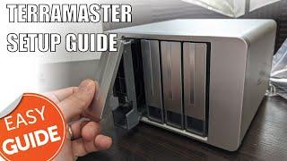 Terramaster F4-422 NAS - First Time Desktop Setup Guide