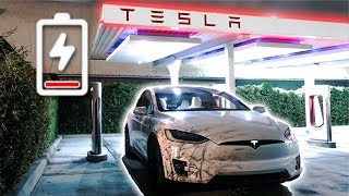 MY TESLA RAN OUT OF BATTERY... (stranded at 4am)
