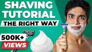 ULTIMATE shaving tutorial | How to shave for beginners | BeerBiceps Men's Grooming