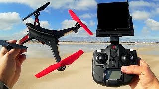 XK Alien X 250-B WiFi FPV With 720P CameraHD Headless Mode RTF Monitor