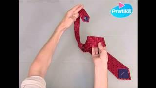 Wie bindet man eine Krawatte in 10 Sekunden