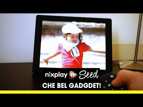 Un bel GADGET! Cornice digitale SMART Nixplay SEED 👍