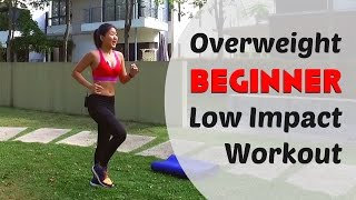 Overweight Beginner Low Impact Home Workout (Burn 300Cals under 20mins) | Joanna Soh
