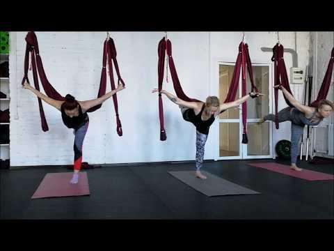 Практика - Йога в гамаках