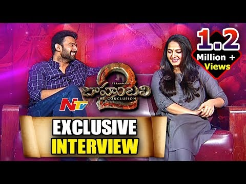 Prabhas and Anushka Exclusive Interview about Bahubali 2