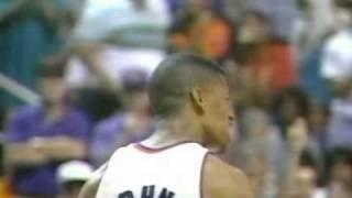 Kevin Johnson posterize Olajuwon 1994 WCSF G4