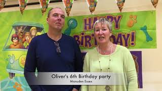 Oliver's 5th birthday party