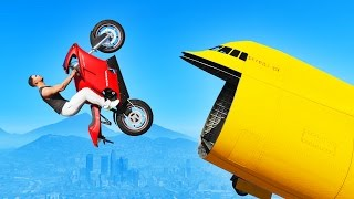 GTA 5 STUNTS: BEST MOMENTS! (GTA 5 Wins, Epic Moments & GTA 5 Funny Moments Compilation)