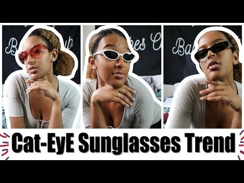 Cat-eye Sunglasses Trend | Shein Haul