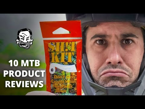 10 MTB Product Reviews – for better or worse