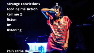 strange convictions- Anjulie