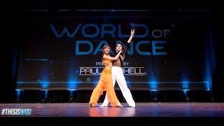 DNA - Denys and Antonina performing Samba at World of Dance NY 2017