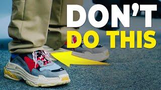 6 Shoe Rules You Should NEVER Break | Mens Sneakers | Alex Costa