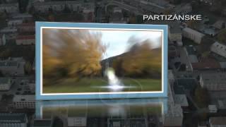 preview picture of video 'Partizánske-pohľad na okolie.'