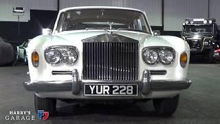 Ebay Rolls Royce Silver Shadow 1 arrives in the garage..