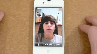 iMessages and FaceTime on the iPhone 4S