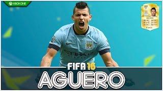 FIFA 16   Player Review   87 Sergio Aguero !