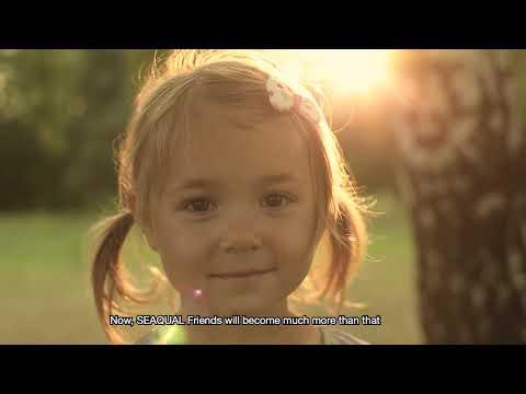 Bañador infantil Manada Seaqual Trendsplant