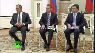 СУПЕР  ВСТРЕЧА  С  Назарбаевым!!!ПУТИН  ОТЖИГАЕТ
