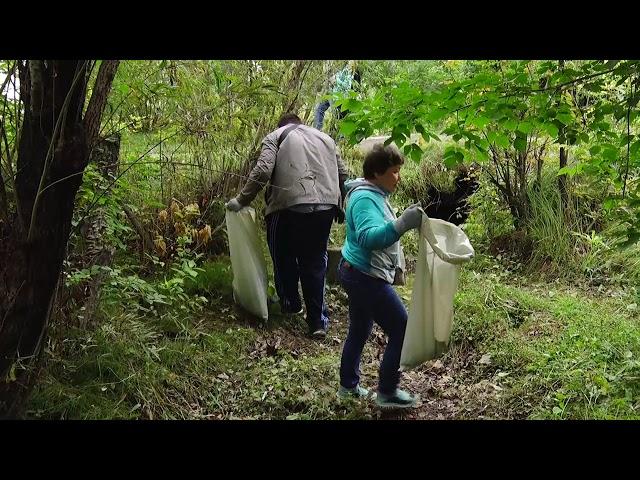 Волонтеры очистили берег Китоя